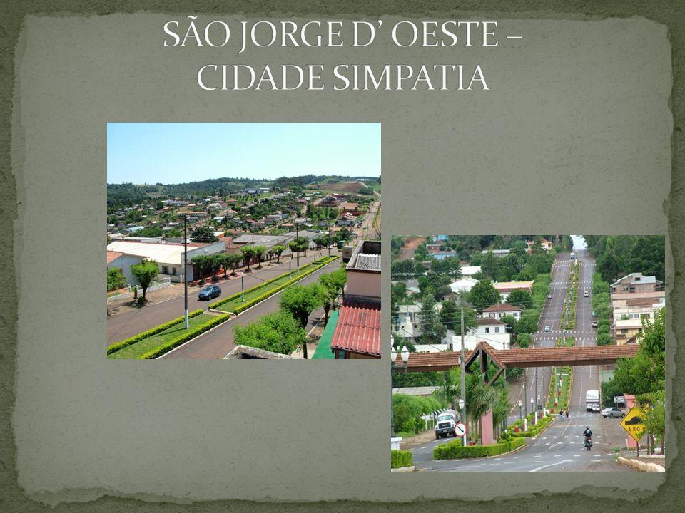 SÃO JORGE D' OESTE – CIDADE SIMPATIA
