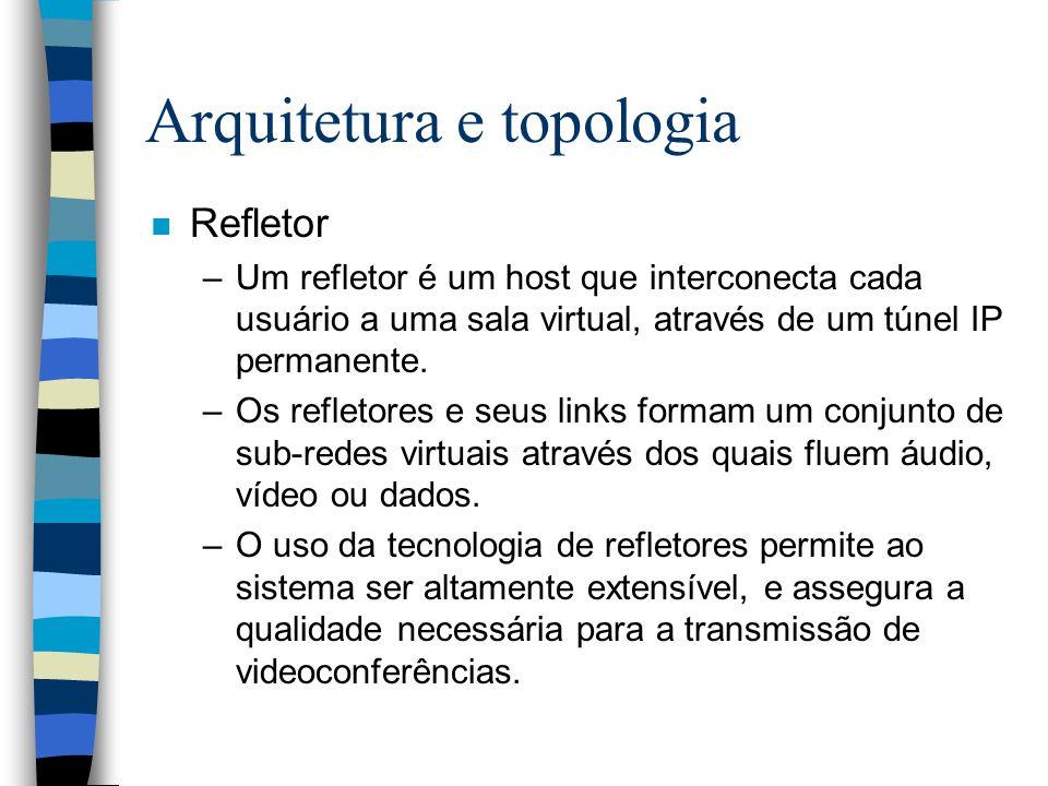 Arquitetura e topologia