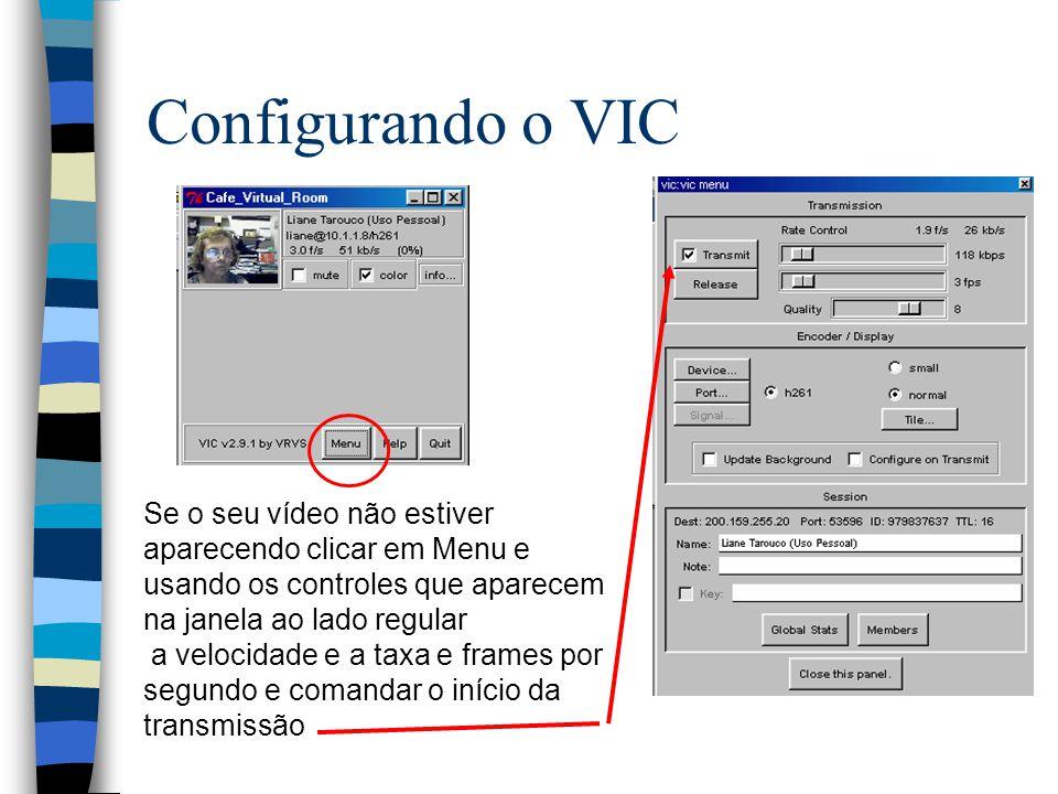 Configurando o VIC