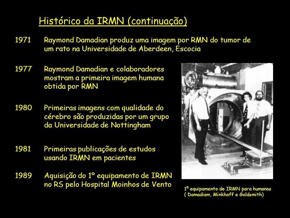 Histórico da IRMN (continuação)