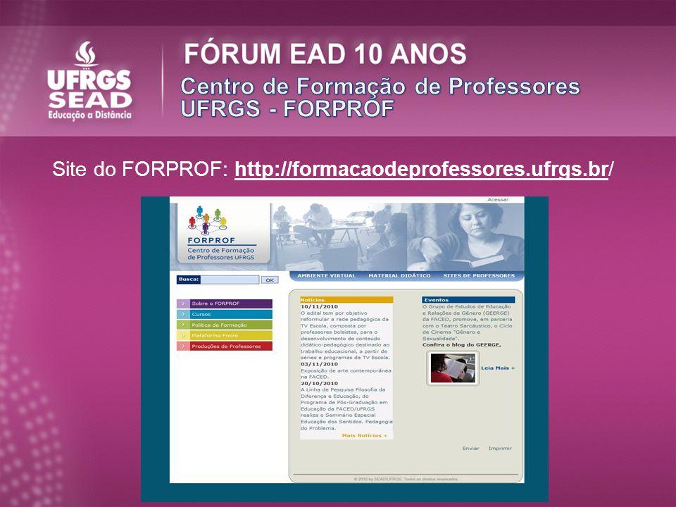 Centro de Formação de Professores UFRGS - FORPROF