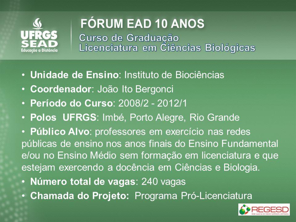 Licenciatura em Ciências Biológicas