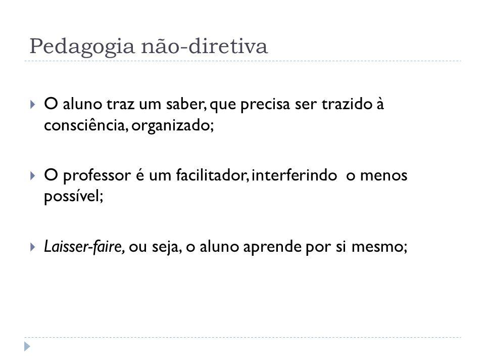 Pedagogia não-diretiva