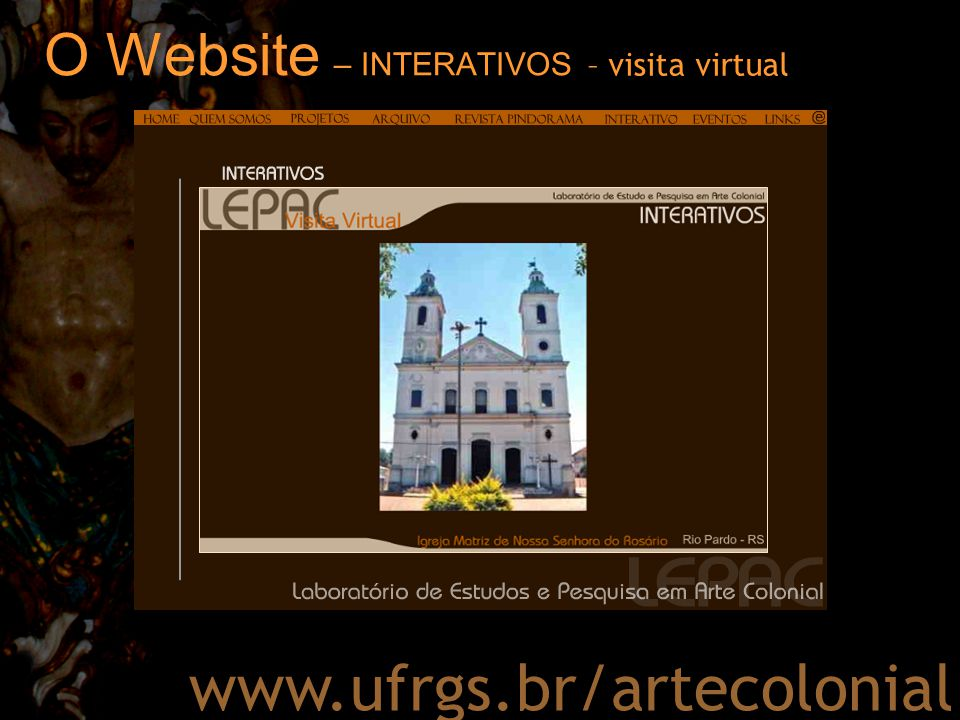 O Website – INTERATIVOS