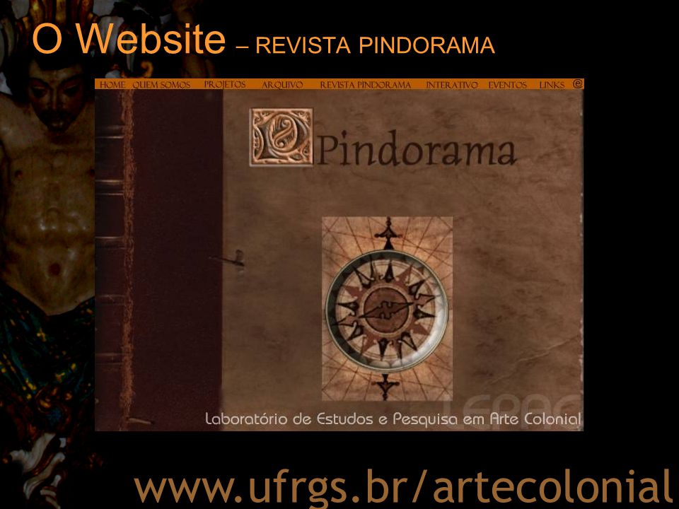 O Website – REVISTA PINDORAMA