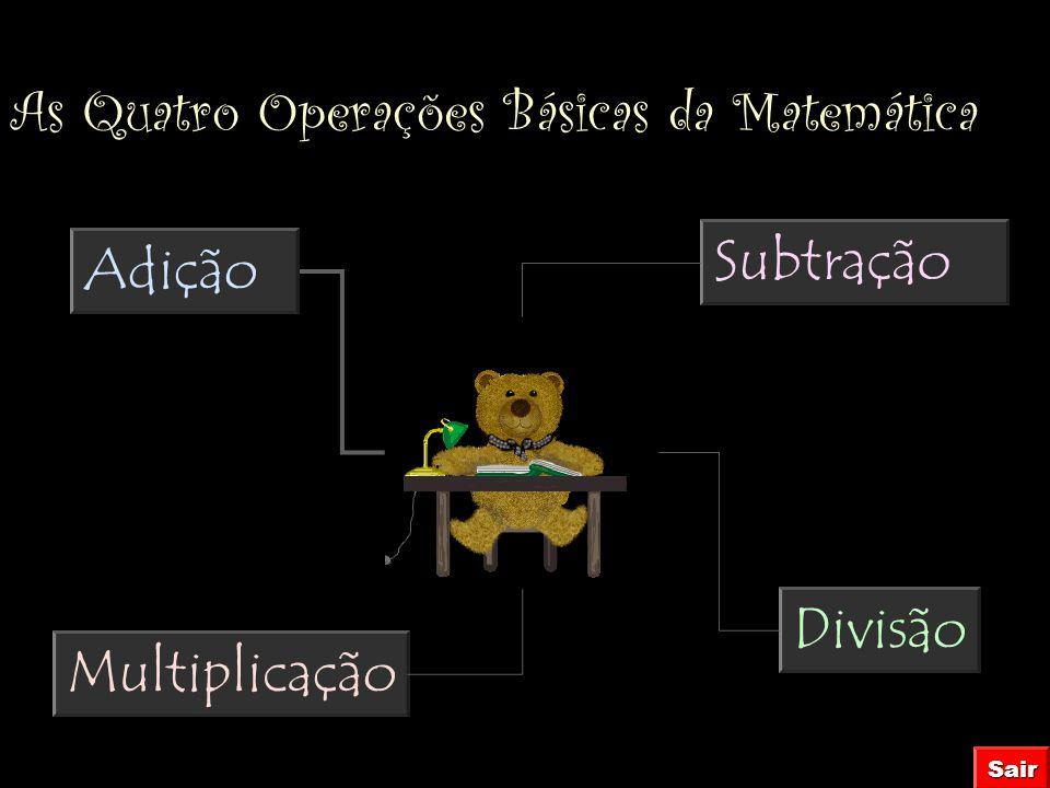 As Quatro Operações Básicas da Matemática