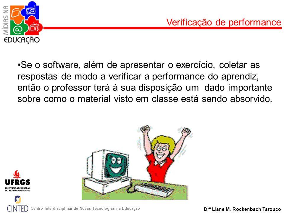 Verificação de performance