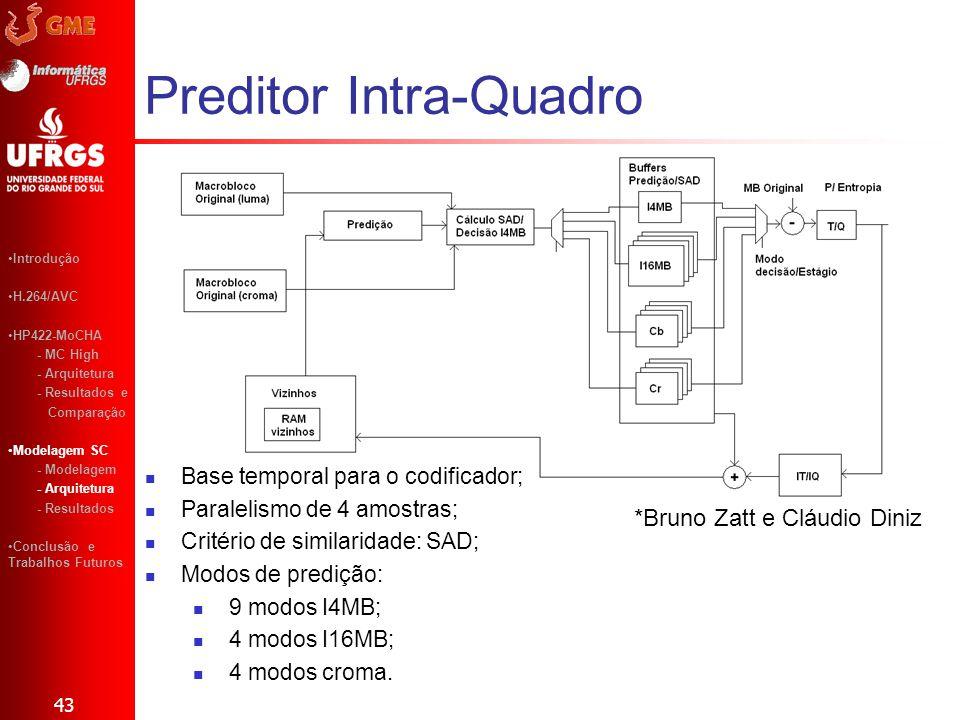 Preditor Intra-Quadro