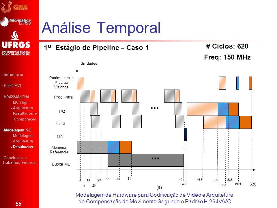 1º Estágio de Pipeline – Caso 1