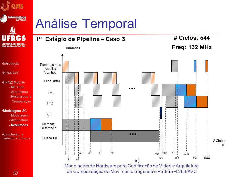 1º Estágio de Pipeline – Caso 3