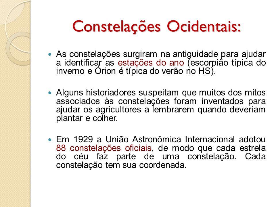 Constelações Ocidentais: