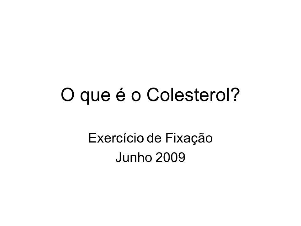 Exercício de Fixação Junho 2009