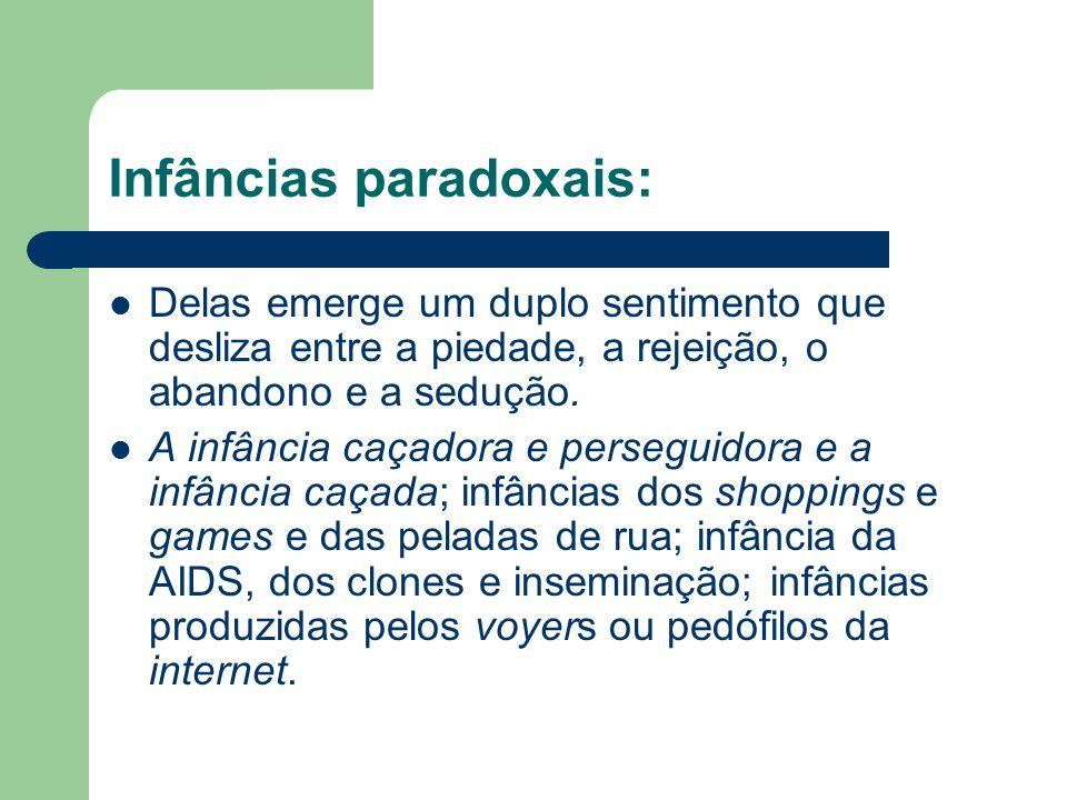 Infâncias paradoxais: