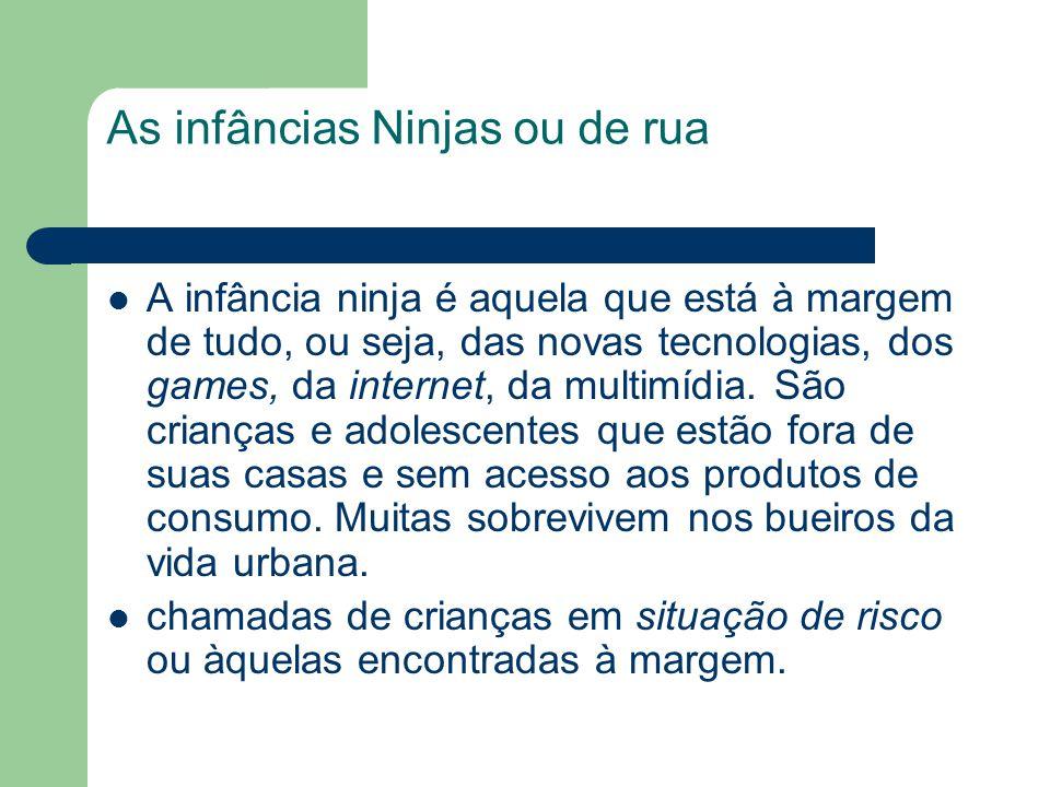 As infâncias Ninjas ou de rua