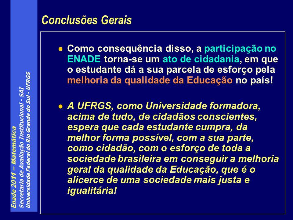 Conclusões Gerais