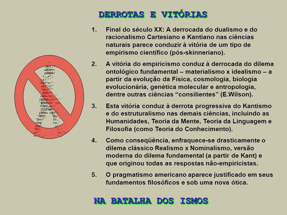 DERROTAS E VITÓRIAS NA BATALHA DOS ISMOS