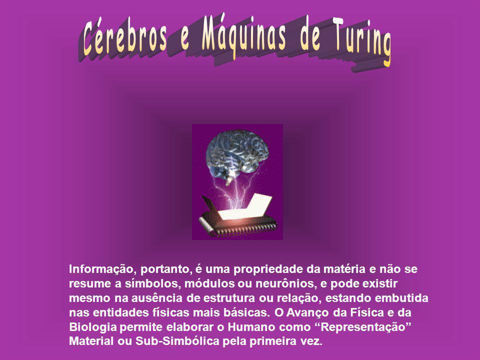 Cérebros e Máquinas de Turing