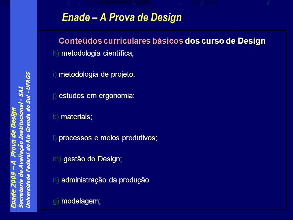 Enade – A Prova de Design