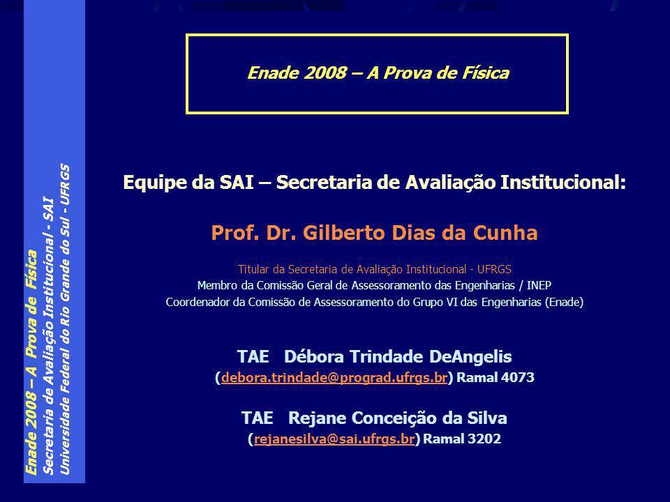 Prof. Dr. Gilberto Dias da Cunha