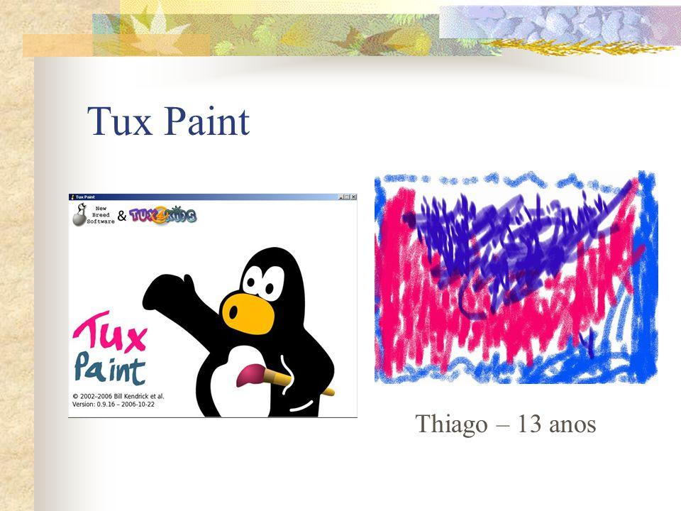Tux Paint Thiago – 13 anos