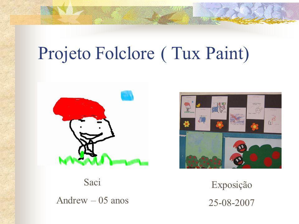 Projeto Folclore ( Tux Paint)