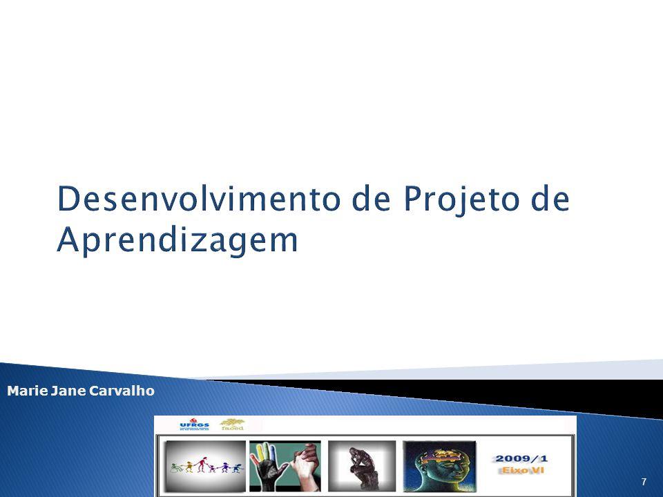 Desenvolvimento de Projeto de Aprendizagem
