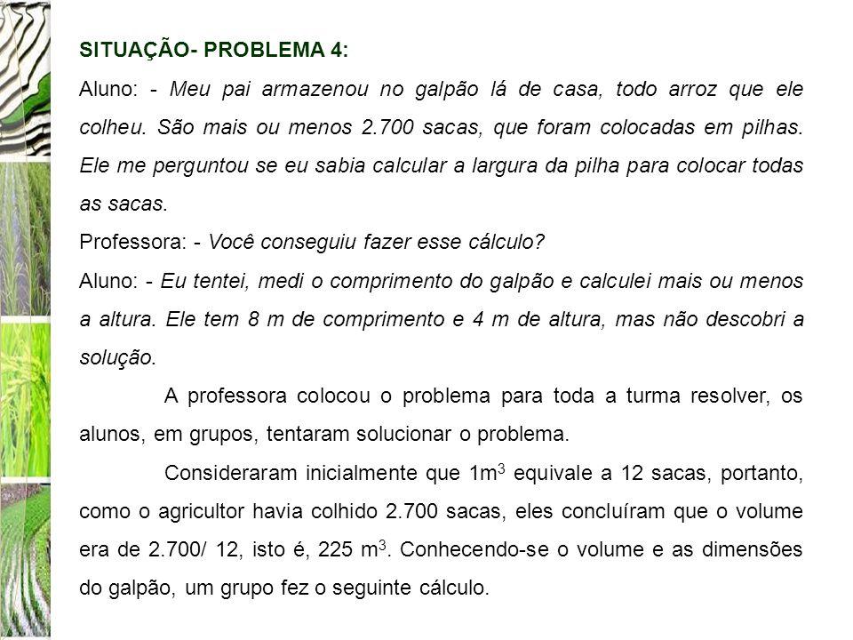 SITUAÇÃO- PROBLEMA 4: