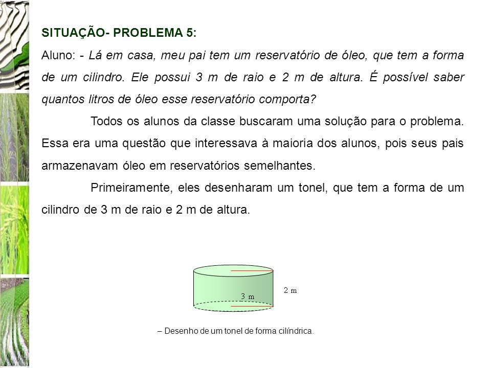 SITUAÇÃO- PROBLEMA 5: