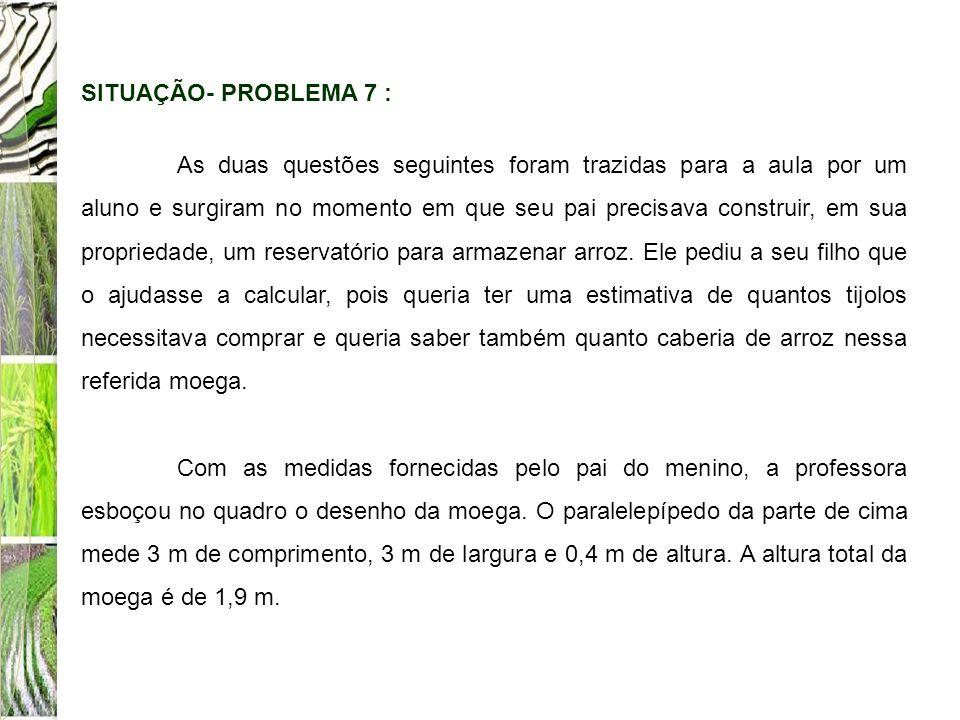 SITUAÇÃO- PROBLEMA 7 :