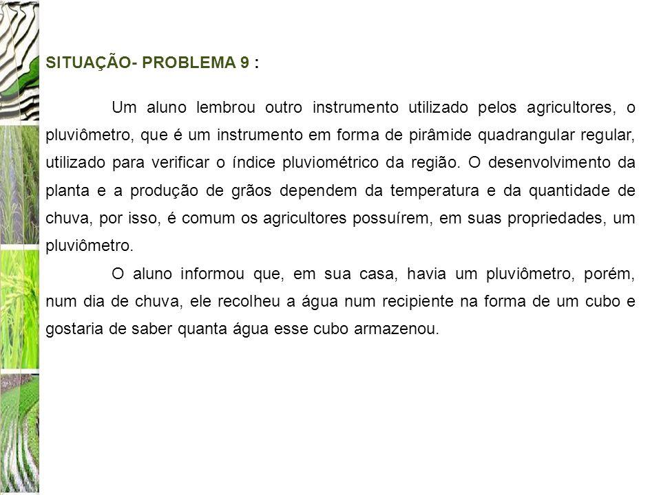 SITUAÇÃO- PROBLEMA 9 :