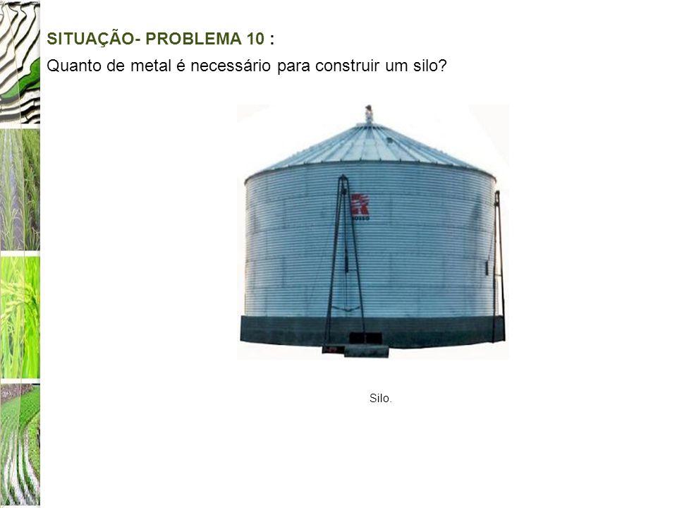 Quanto de metal é necessário para construir um silo