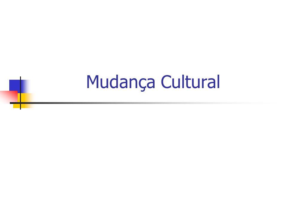 Mudança Cultural