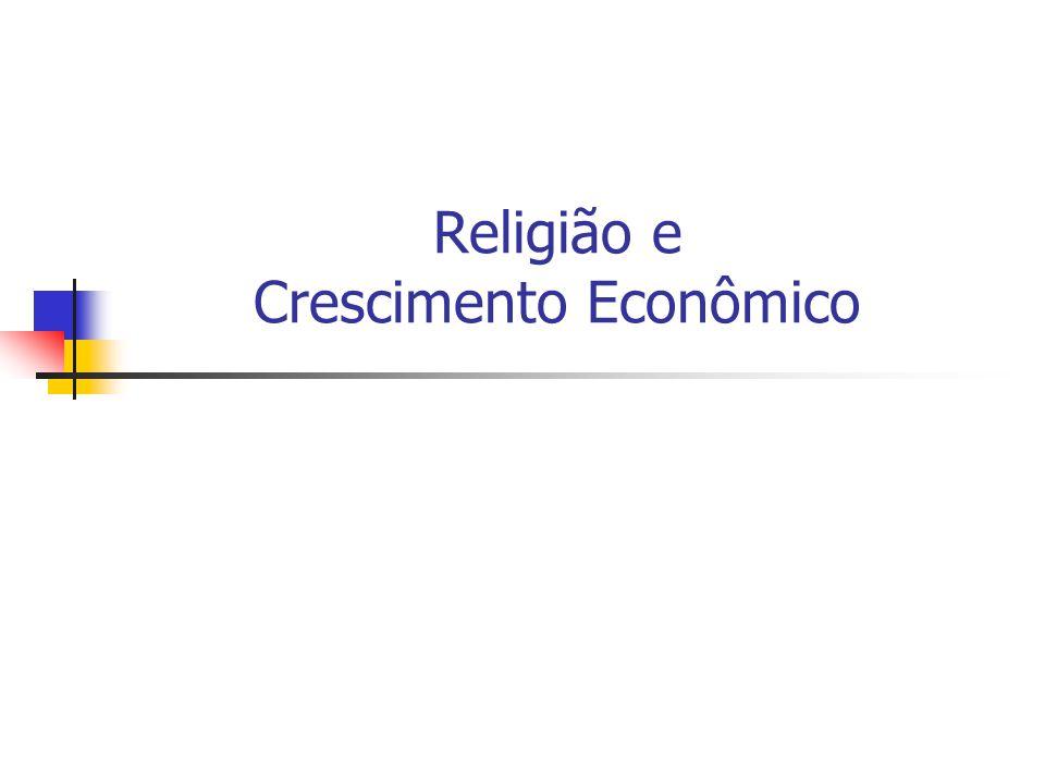 Religião e Crescimento Econômico