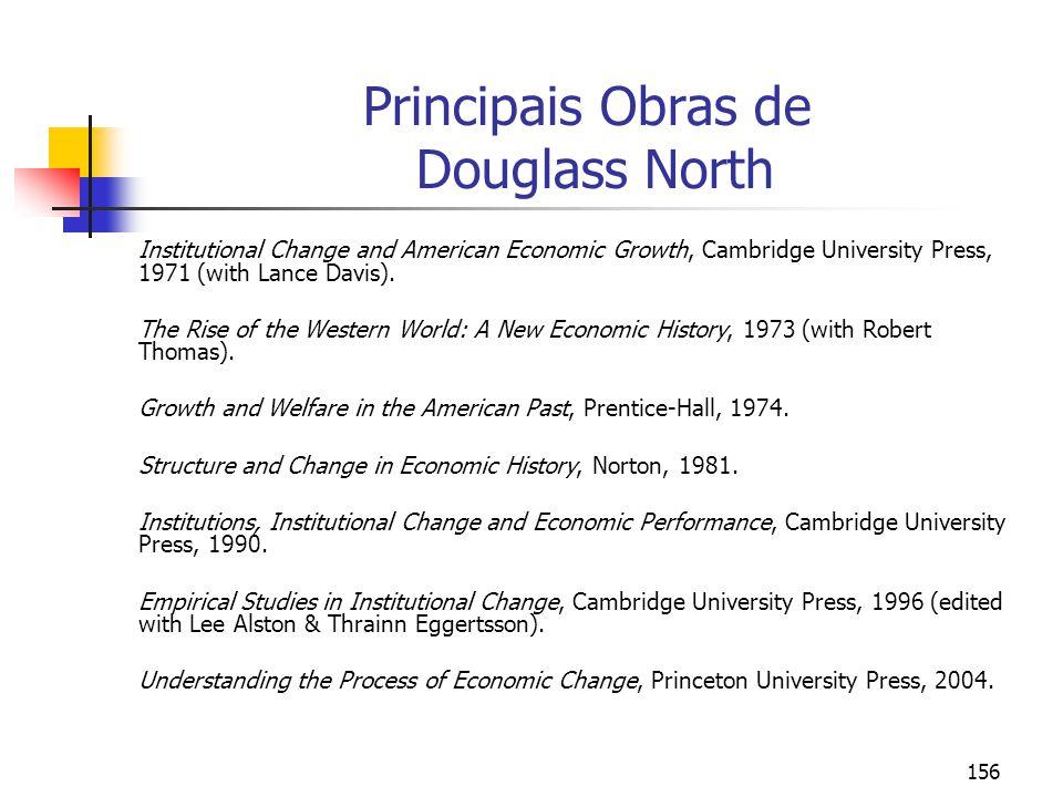 Principais Obras de Douglass North