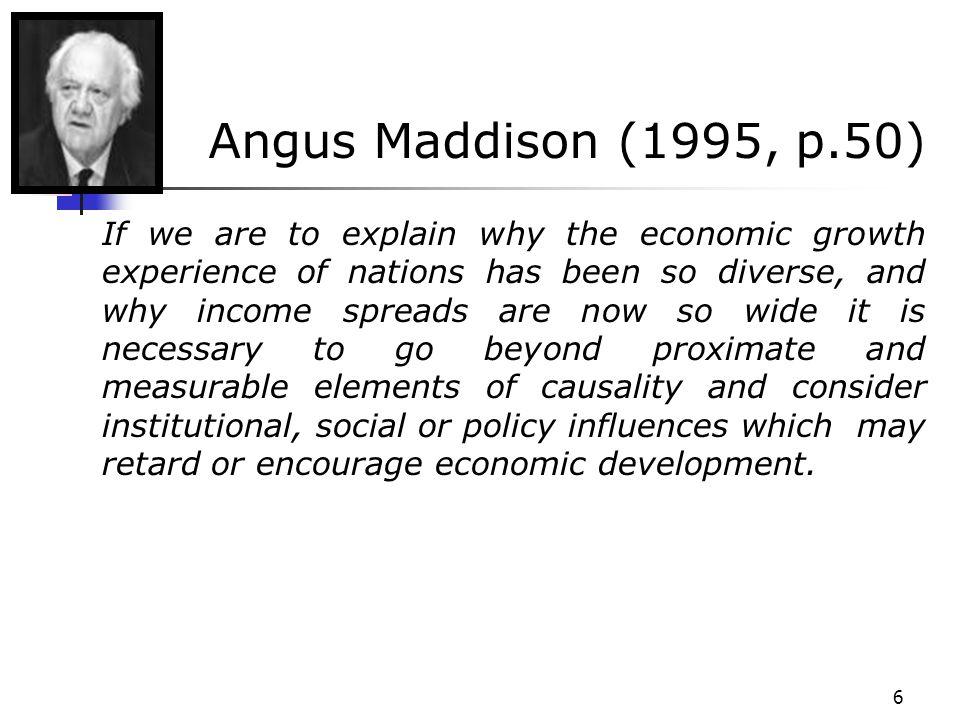 Angus Maddison (1995, p.50)