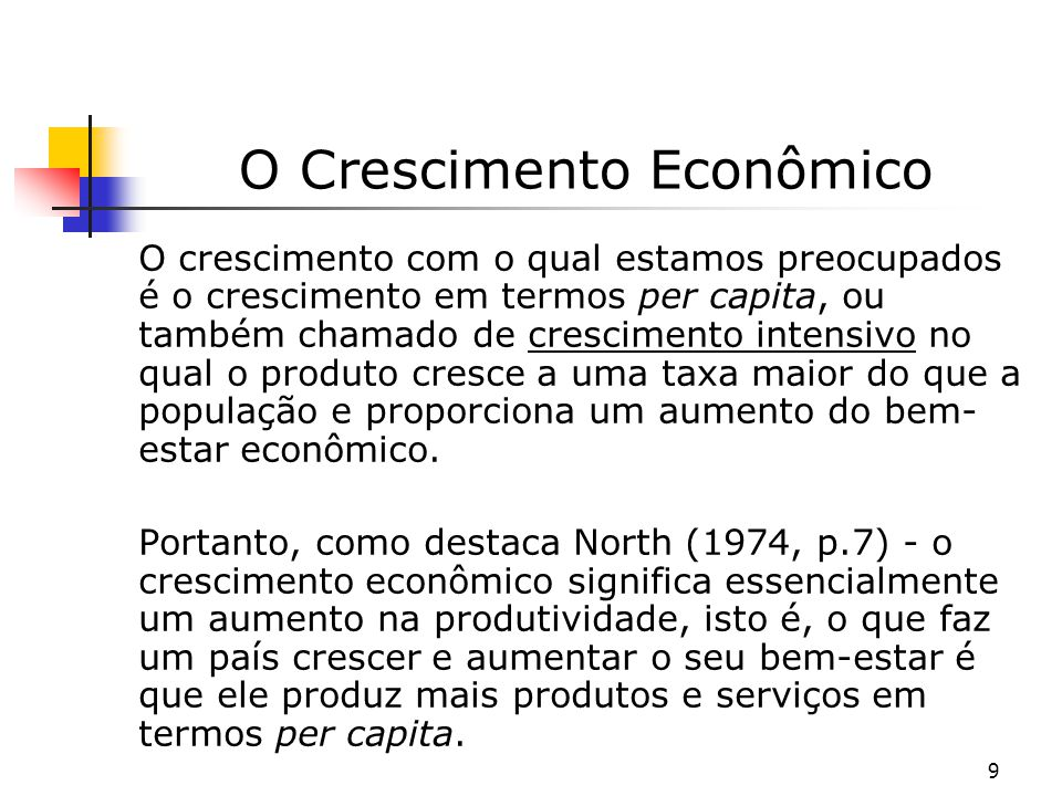 O Crescimento Econômico