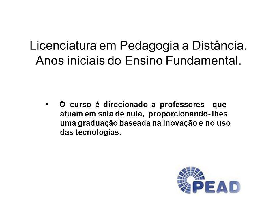 Licenciatura em Pedagogia a Distância