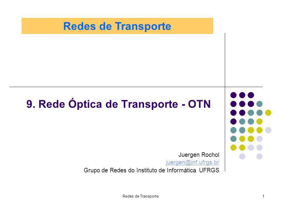 9. Rede Óptica de Transporte - OTN