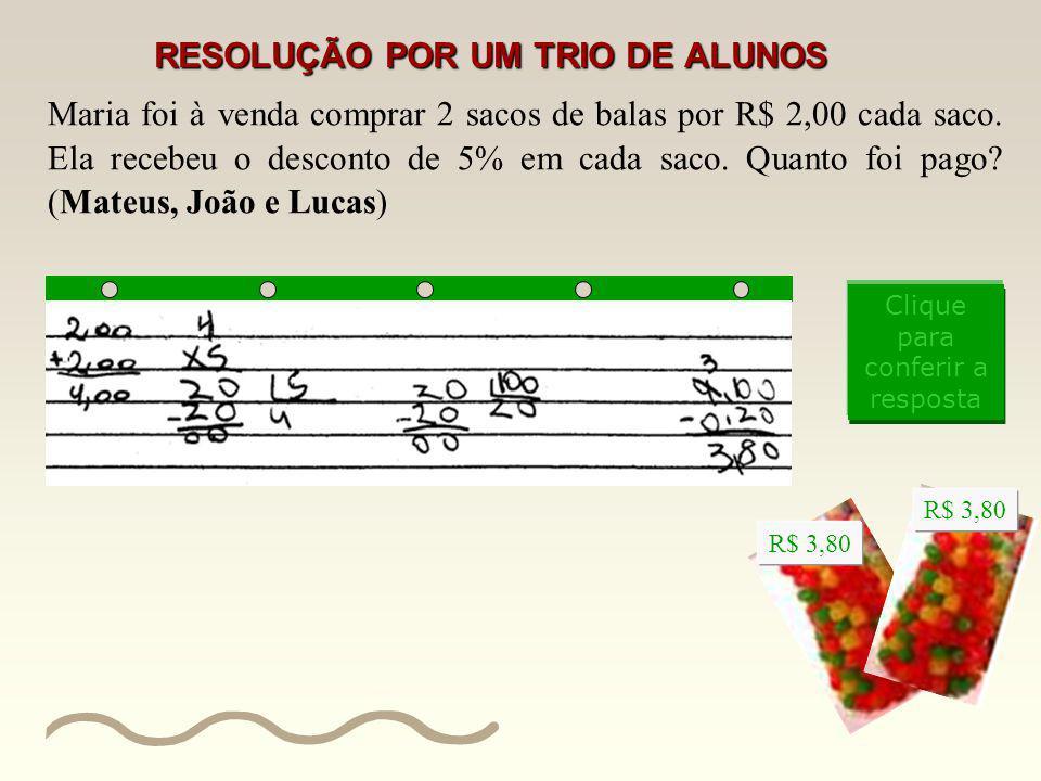 RESOLUÇÃO POR UM TRIO DE ALUNOS
