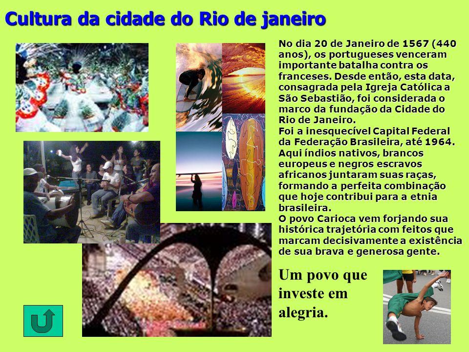 Cultura da cidade do Rio de janeiro