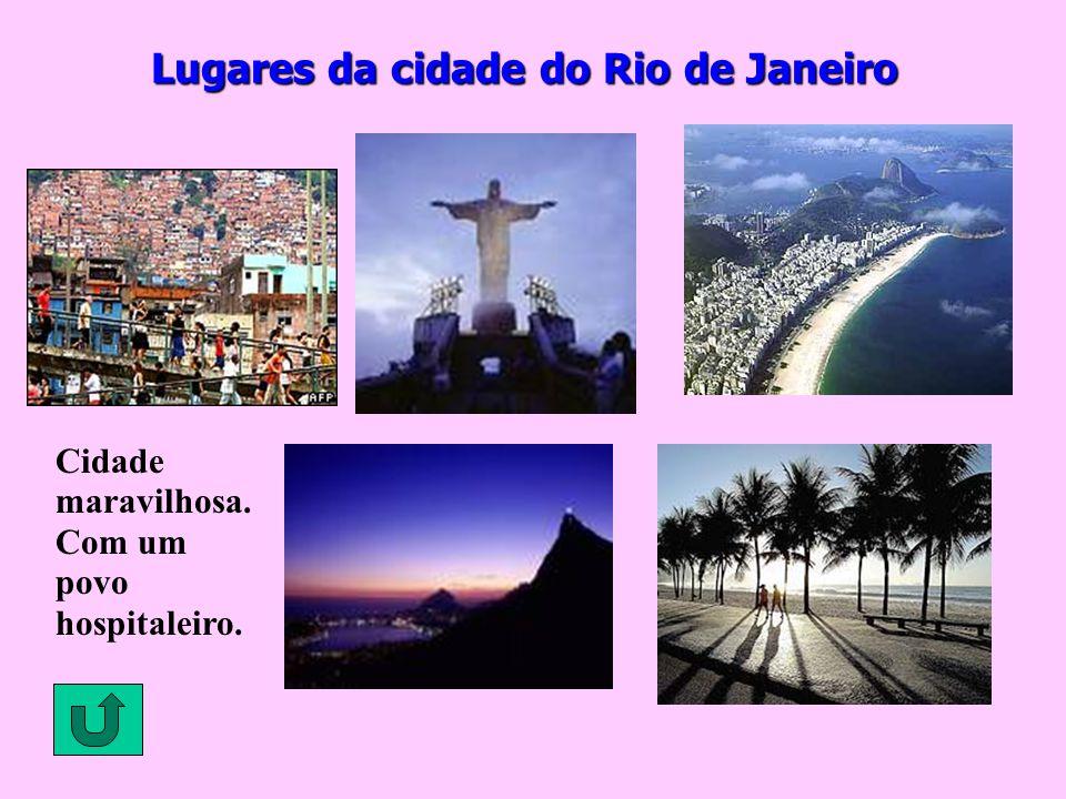 Lugares da cidade do Rio de Janeiro