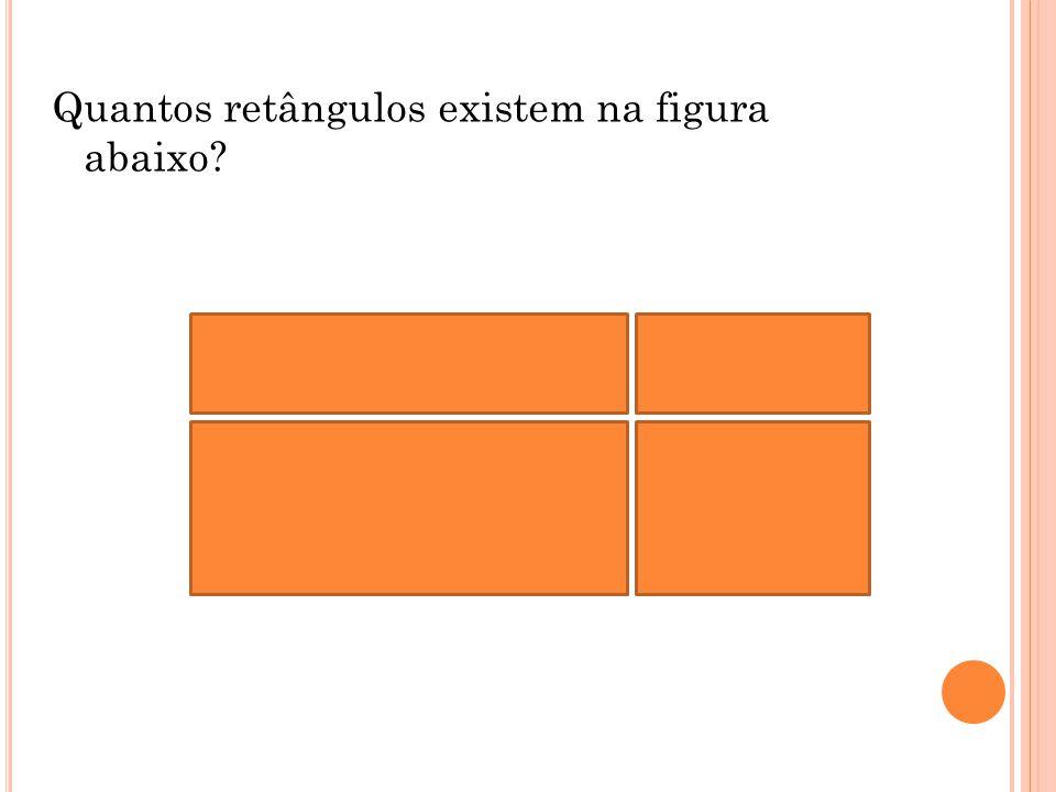 Quantos retângulos existem na figura abaixo