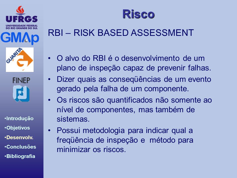 RBI – RISK BASED ASSESSMENT