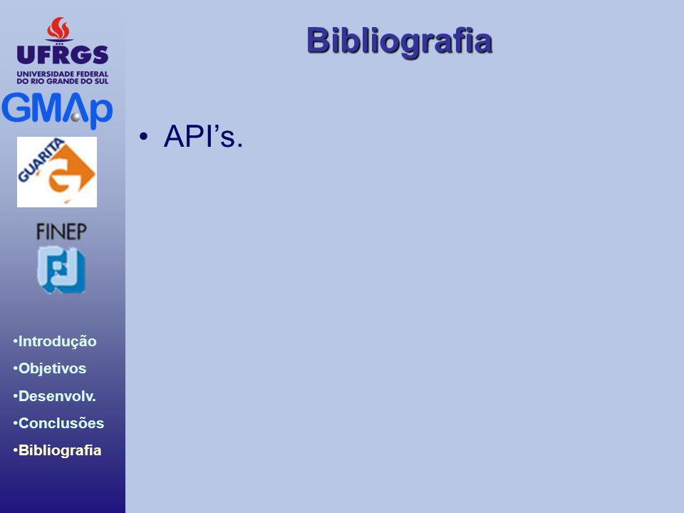 API's.