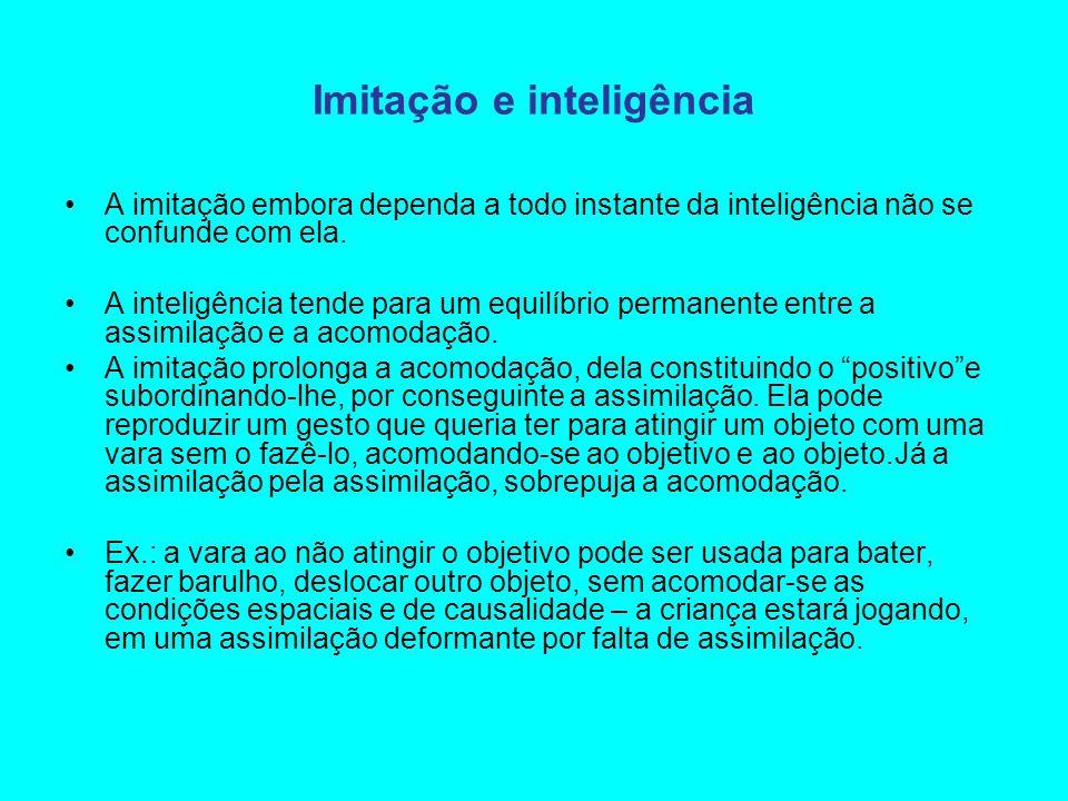 Imitação e inteligência