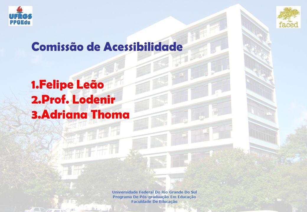 Comissão de Acessibilidade
