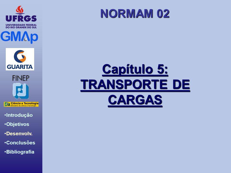 Capítulo 5: TRANSPORTE DE CARGAS