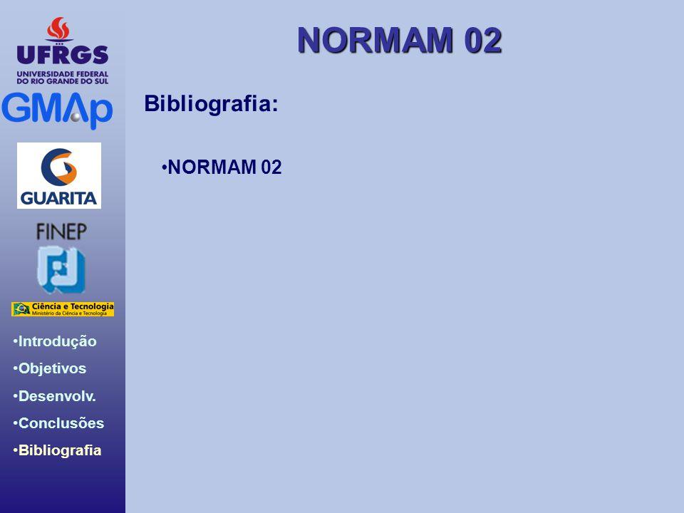 Bibliografia: NORMAM 02