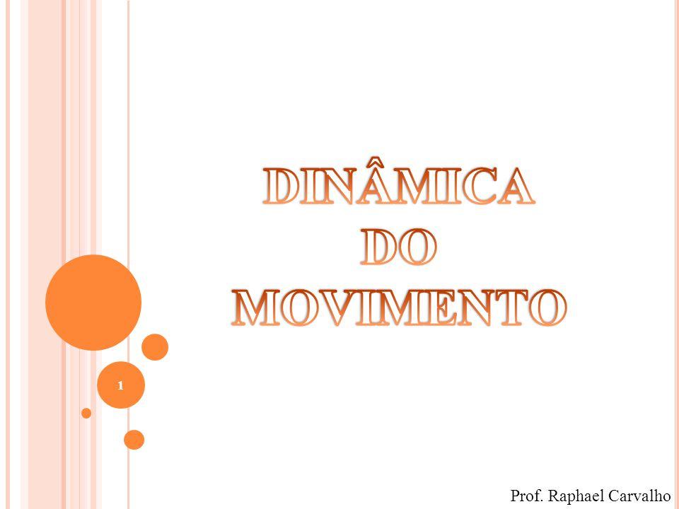 DINÂMICA DO MOVIMENTO Prof. Raphael Carvalho