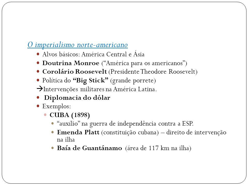 O imperialismo norte-americano